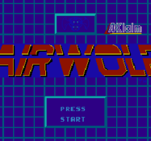 Airwolf. (Helicopter simulator)