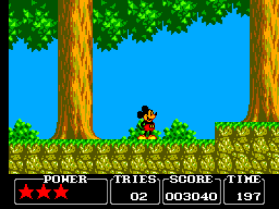 Castle of Illusion Starring Mickey Mouse (Микки Маус - Замок иллюзий)